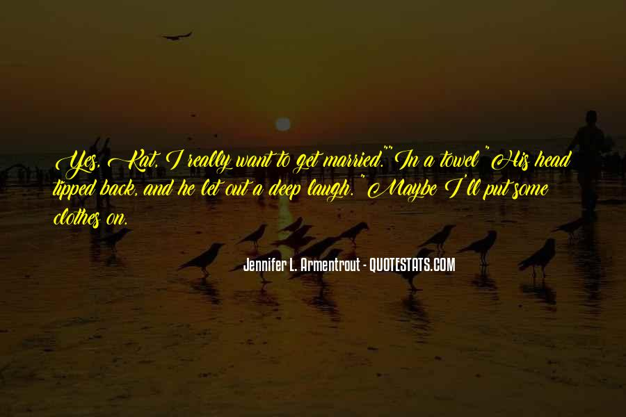 Let's Get Married Quotes #1711044