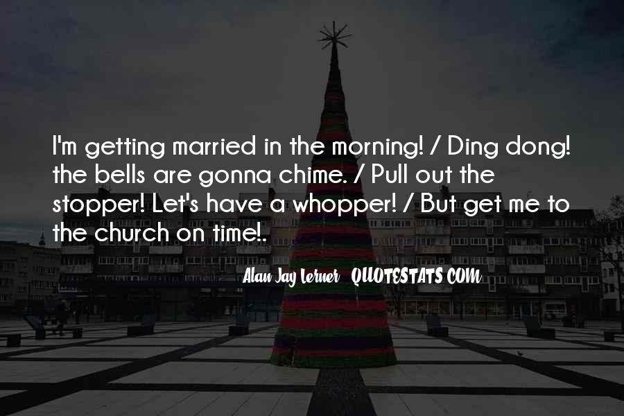 Let's Get Married Quotes #278589