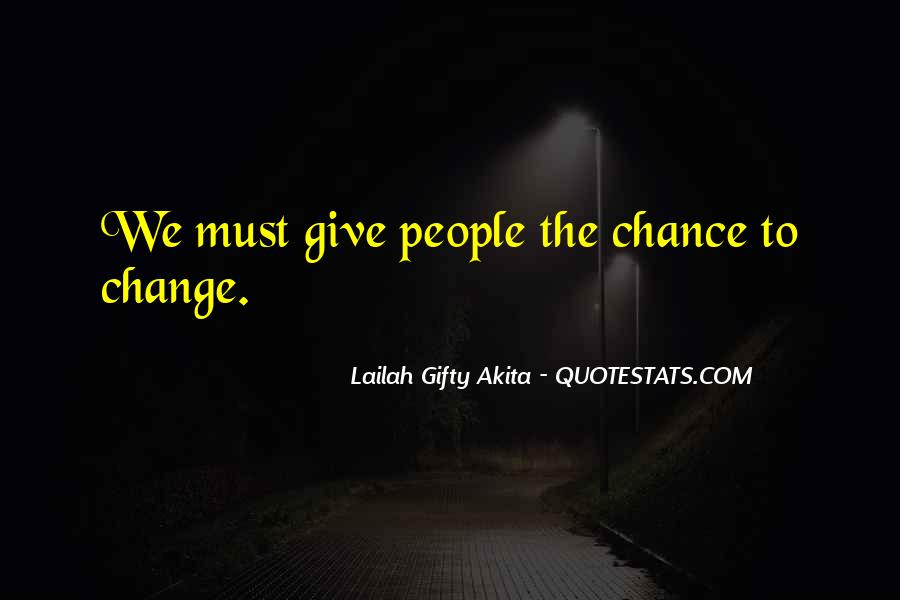 Let's Give Love A Chance Quotes #229743
