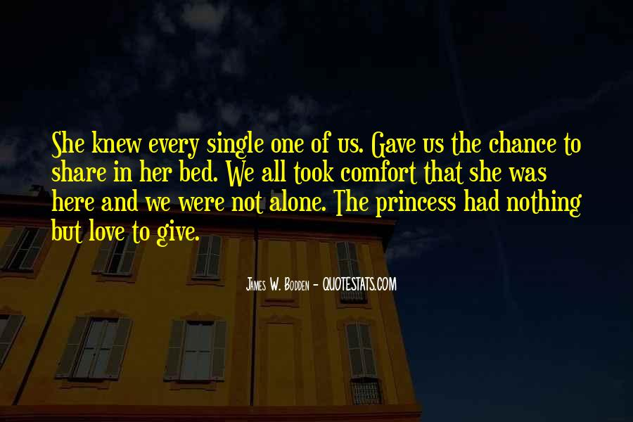 Let's Give Love A Chance Quotes #279199