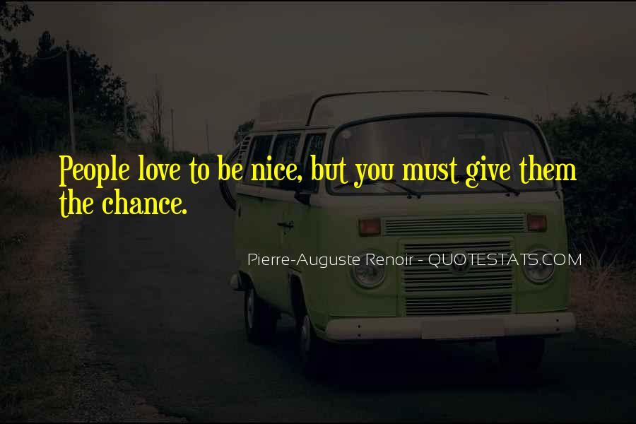 Let's Give Love A Chance Quotes #348697