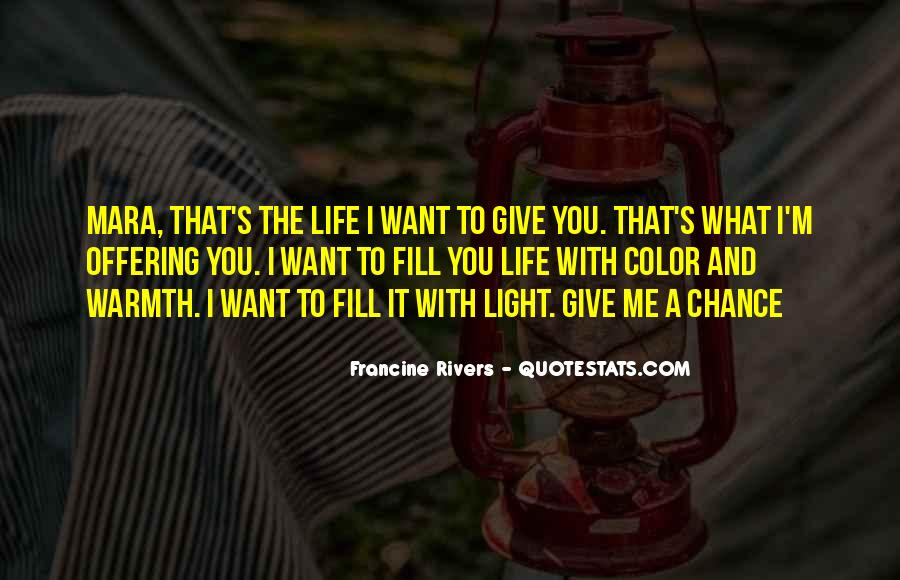 Let's Give Love A Chance Quotes #540837