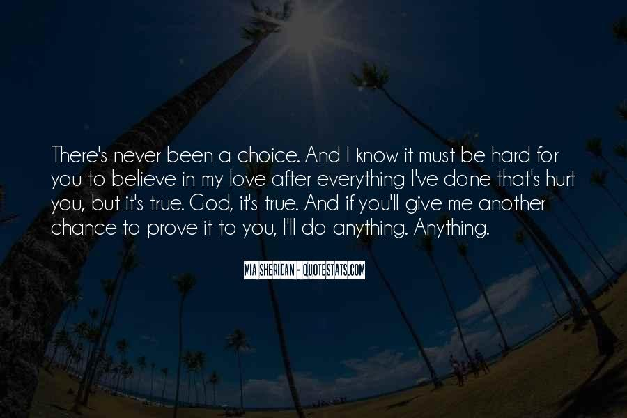 Let's Give Love A Chance Quotes #723514