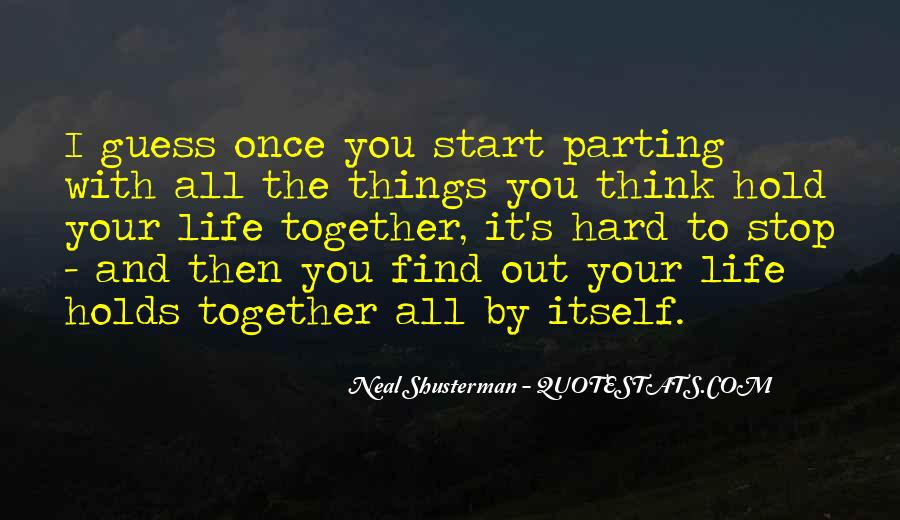 Let's Start Life Together Quotes #262732