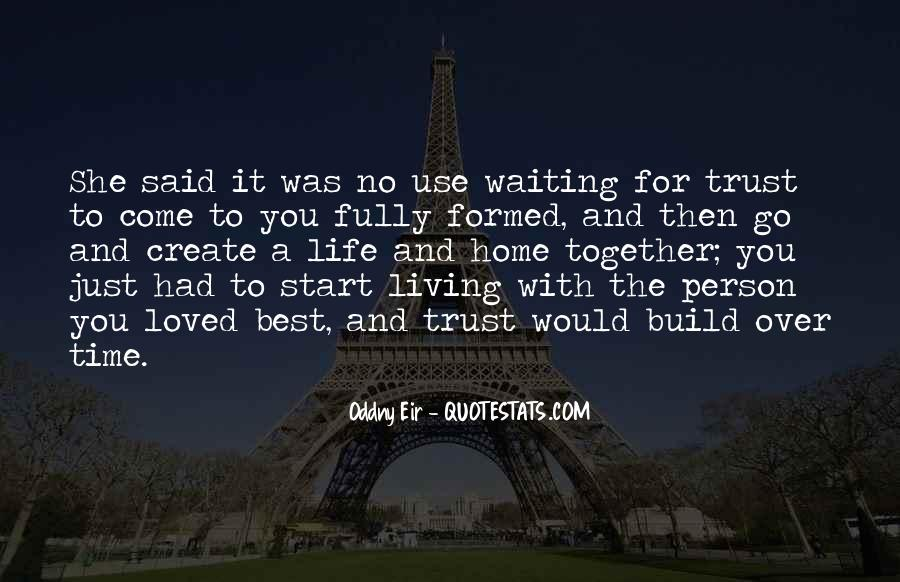 Let's Start Life Together Quotes #351911