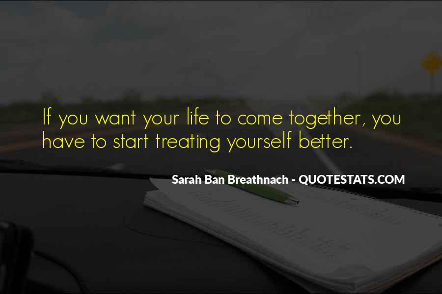 Let's Start Life Together Quotes #566186