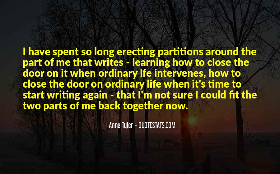 Let's Start Life Together Quotes #762422