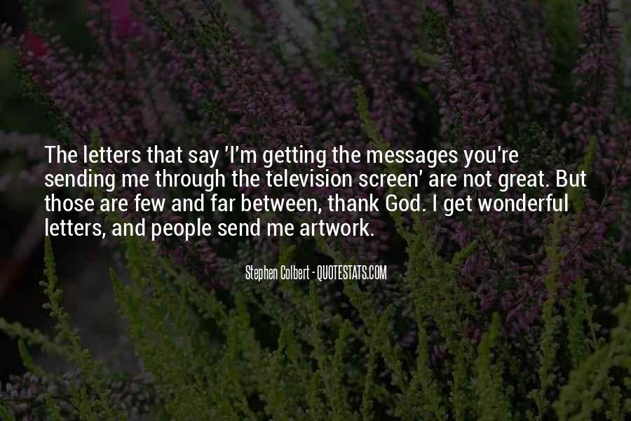 Letters To God Quotes #1147411