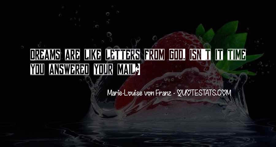Letters To God Quotes #310037