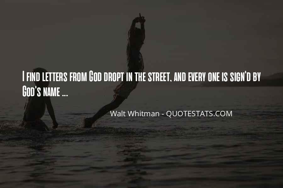 Letters To God Quotes #400039