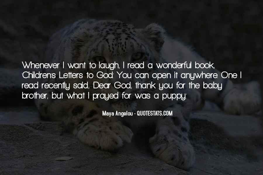 Letters To God Quotes #805709