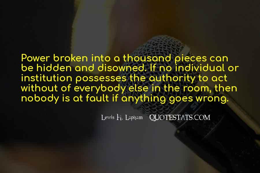 Lewis Lapham Quotes #518009