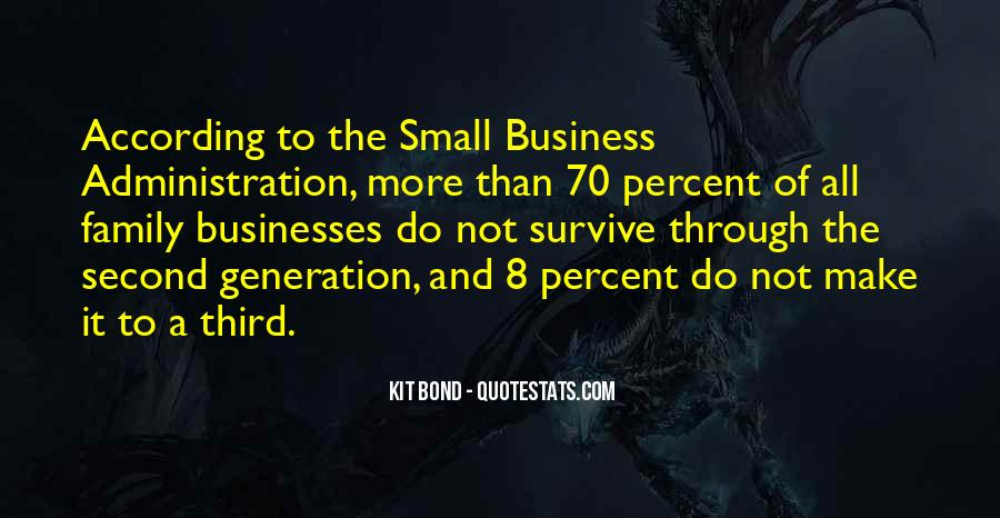 Quotes About Doing Business With Family #10548