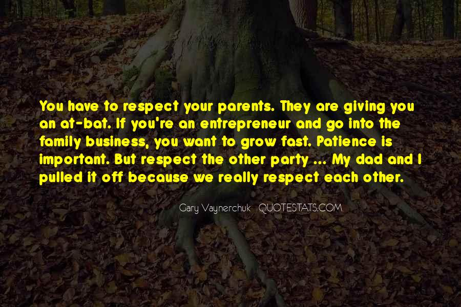 Quotes About Doing Business With Family #161880