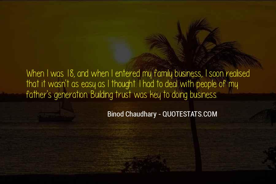 Quotes About Doing Business With Family #865844