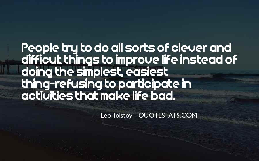 Quotes About Doing Activities #1093110