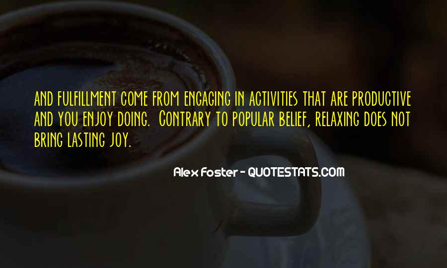 Quotes About Doing Activities #1208901