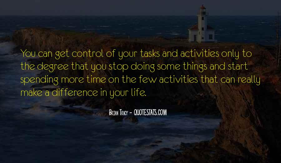 Quotes About Doing Activities #1291719