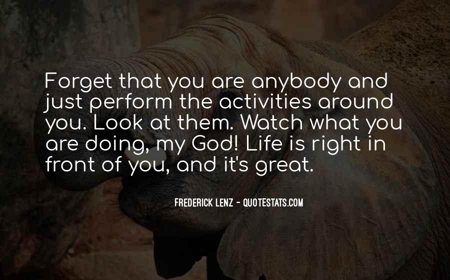Quotes About Doing Activities #147140
