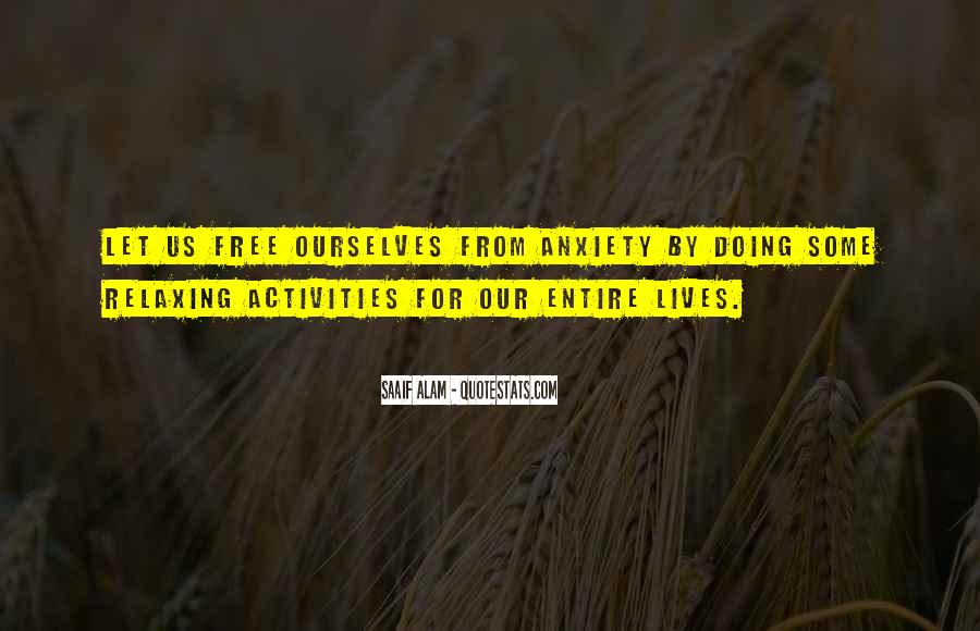 Quotes About Doing Activities #151813