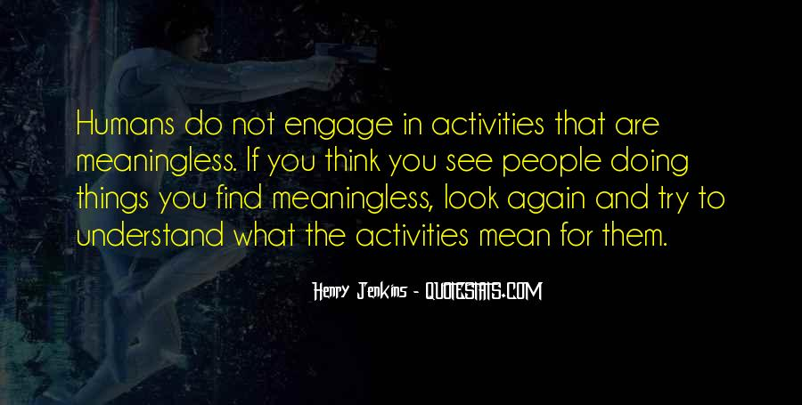 Quotes About Doing Activities #203439