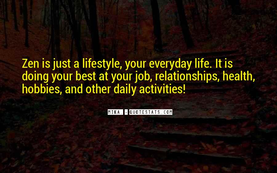 Quotes About Doing Activities #365557