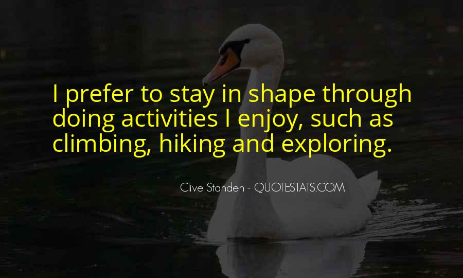 Quotes About Doing Activities #497631