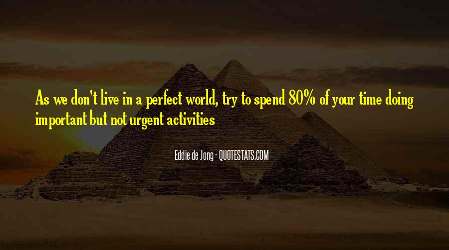 Quotes About Doing Activities #730731