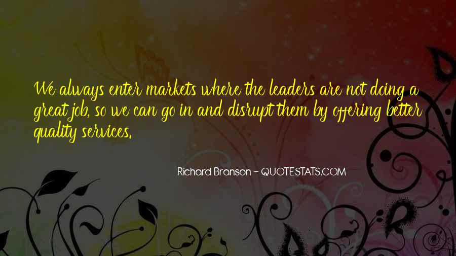 Quotes About Doing A Great Job #136081