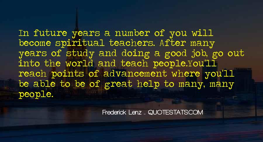 Quotes About Doing A Great Job #1522371