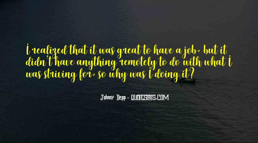 Quotes About Doing A Great Job #408361