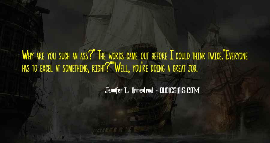 Quotes About Doing A Great Job #533589