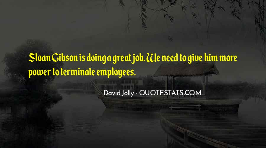 Quotes About Doing A Great Job #826301