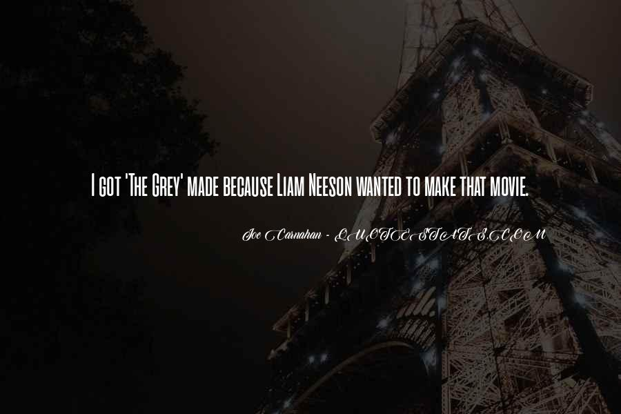 Liam Neeson Movie Quotes #1810507