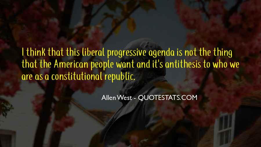 Liberal Progressive Quotes #248015