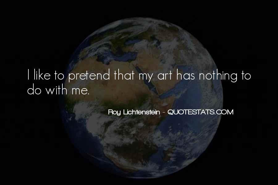 Lichtenstein Pop Art Quotes #1052739