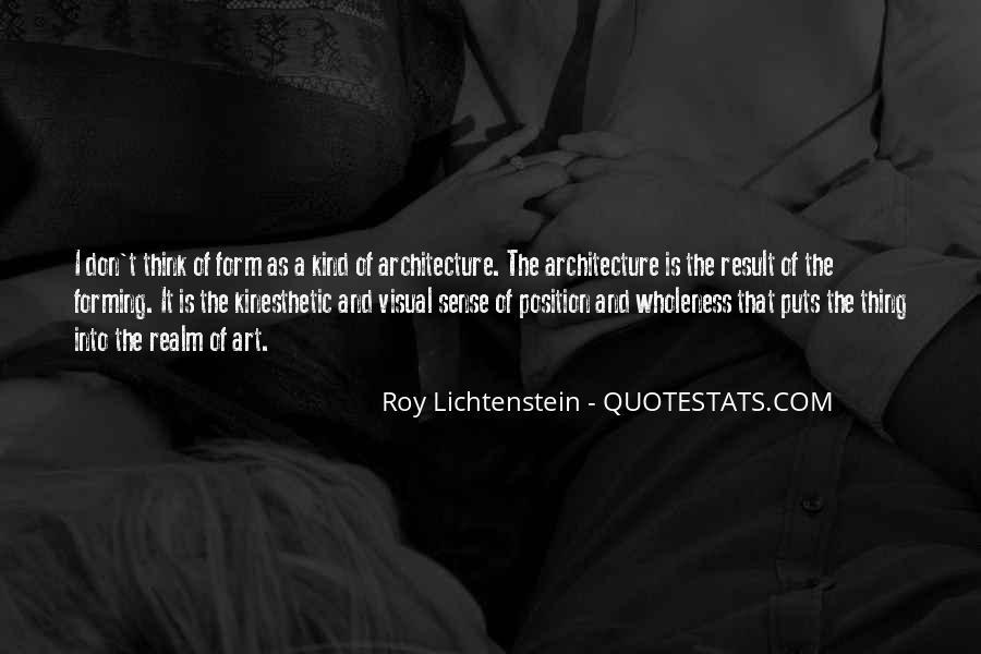 Lichtenstein Pop Art Quotes #109425