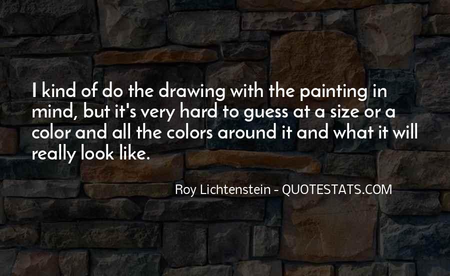 Lichtenstein Pop Art Quotes #1500389