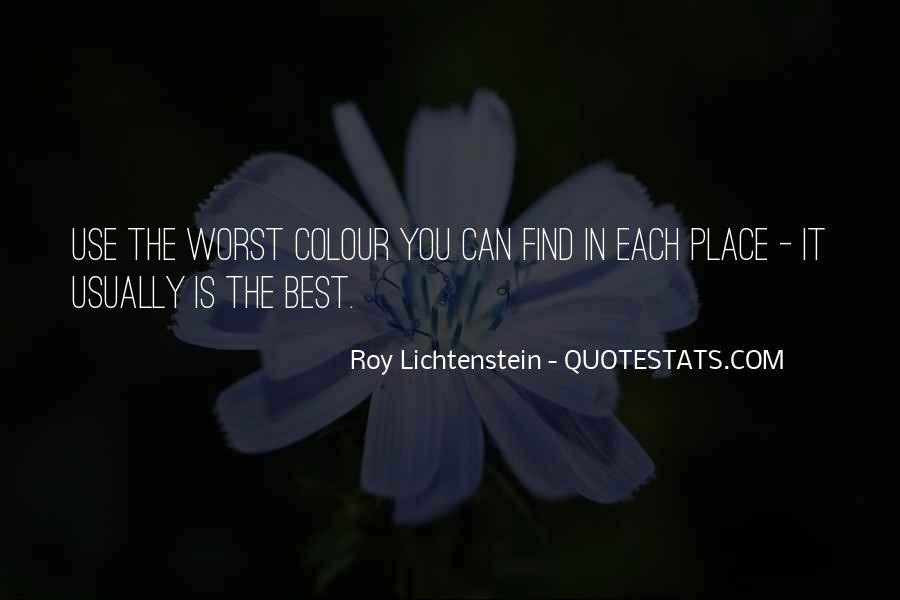 Lichtenstein Pop Art Quotes #1614627