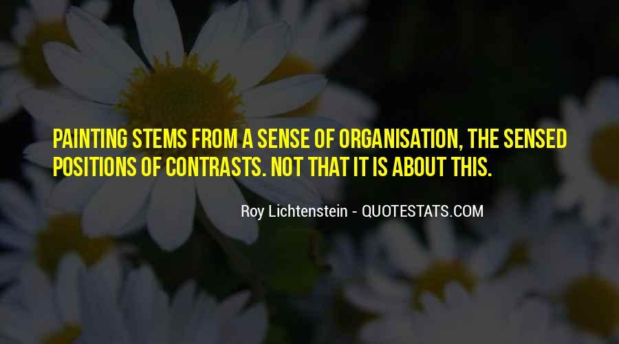 Lichtenstein Pop Art Quotes #1748298