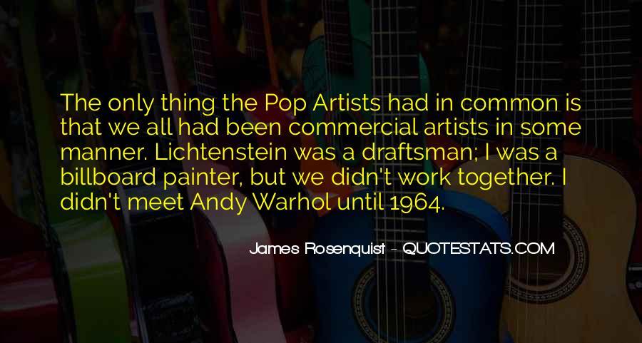 Lichtenstein Pop Art Quotes #217482