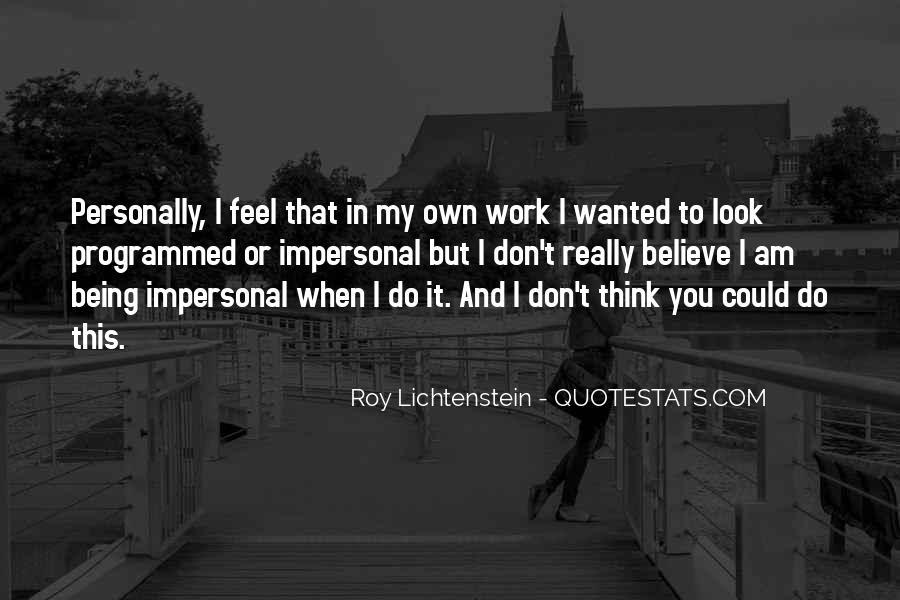 Lichtenstein Pop Art Quotes #902227