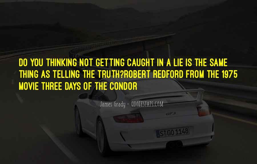 Lie Caught Quotes #100771