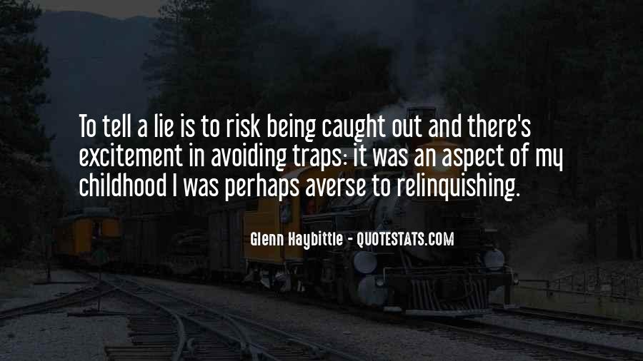 Lie Caught Quotes #1093086