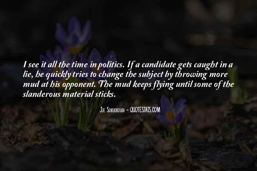 Lie Caught Quotes #1564260