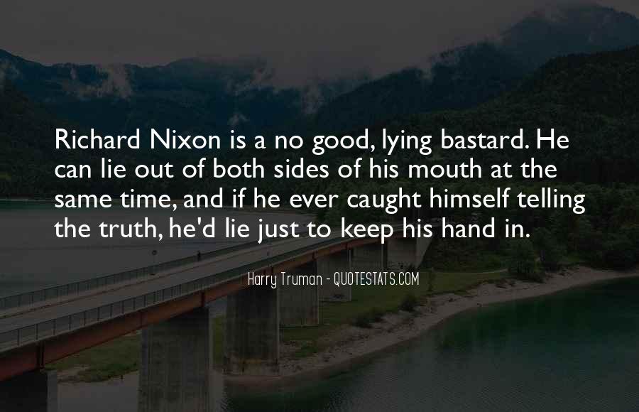 Lie Caught Quotes #1842718