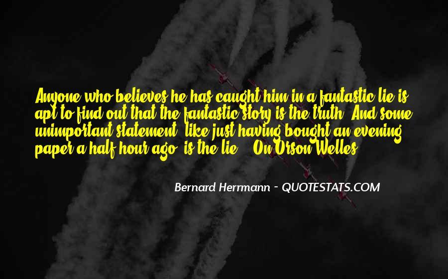 Lie Caught Quotes #214283
