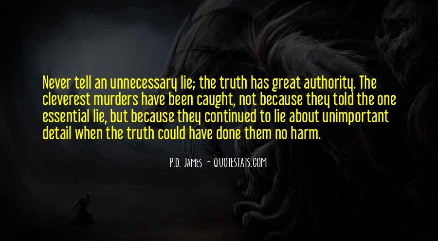 Lie Caught Quotes #683621