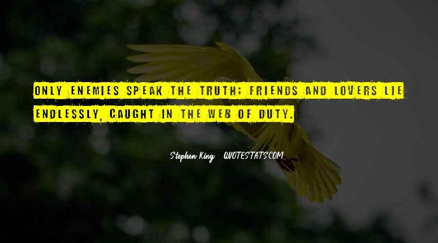 Lie Caught Quotes #987567