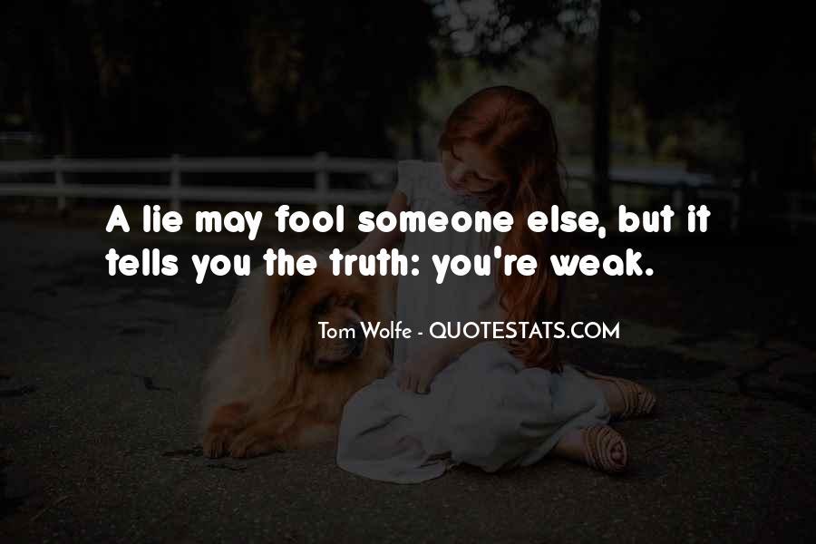 Lie Lie Quotes #13731